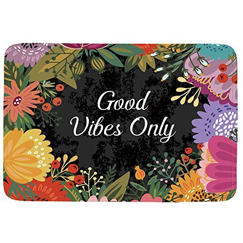 Good Vibes Only Doormat Entrance Mat Floor Mat Rug