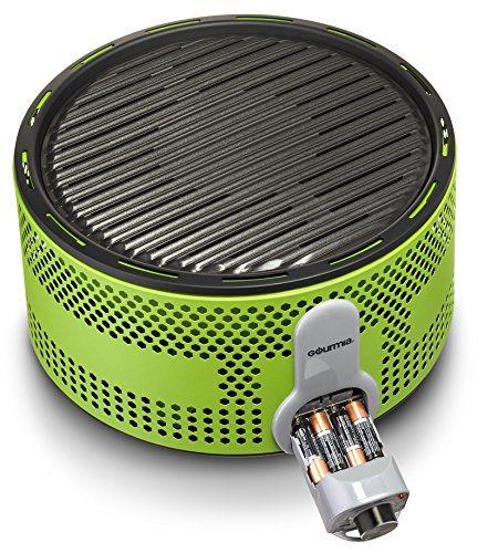 Gourmia Gbq330 Portable Charcoal Electric Bbq Grill 90