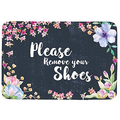 Please Remove Your Shoes Doormat Entrance Mat Floor Mat