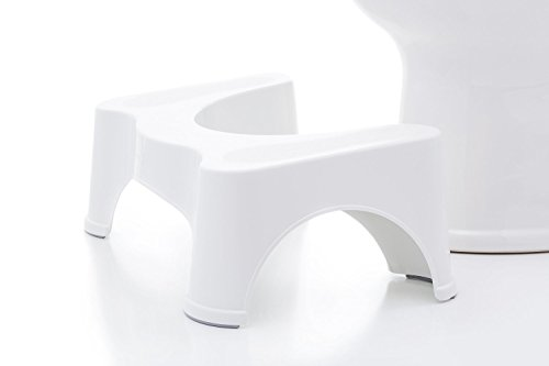 Squatty Potty The Original Bathroom Toilet Stool 7 White 0