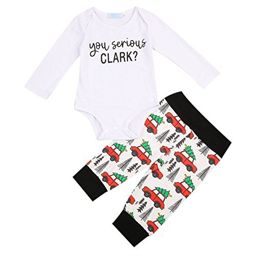 Christmas Vacation Baby Outfit