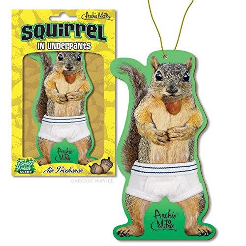 Squirrel in Underpants Air Freshener