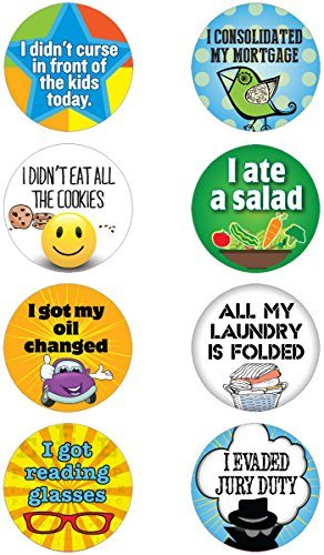Adult Achievement Stickers
