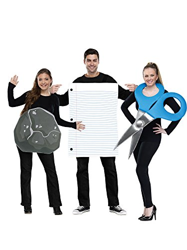 Adult Rock Paper Scissors Costume
