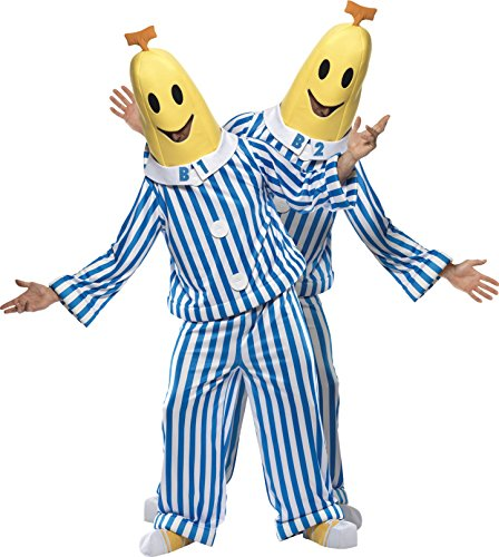 Bananas in Pajamas Couples Costume