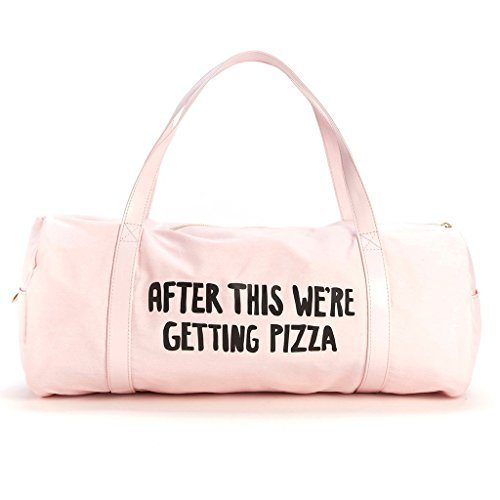 """After This We're Getting Pizza"" Gym Bag"
