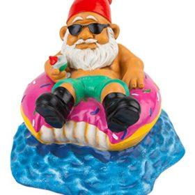 Donut Worry Be Happy Garden Gnome 2