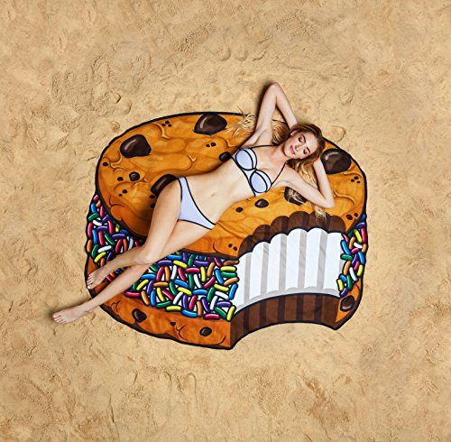 Ice Cream Cookie Sandwich Beach Blanket