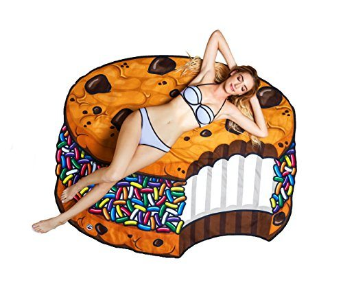 Ice Cream Cookie Sandwich Beach Blanket