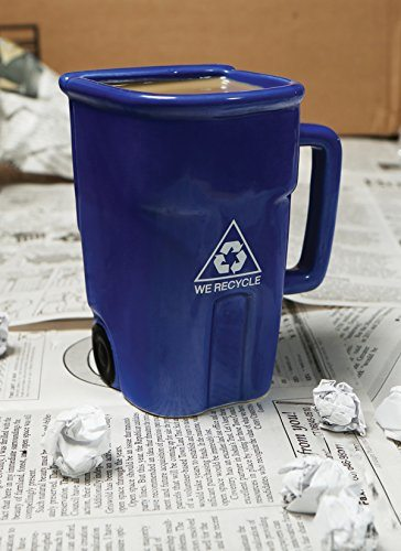 Recycling Bin Coffee Mug