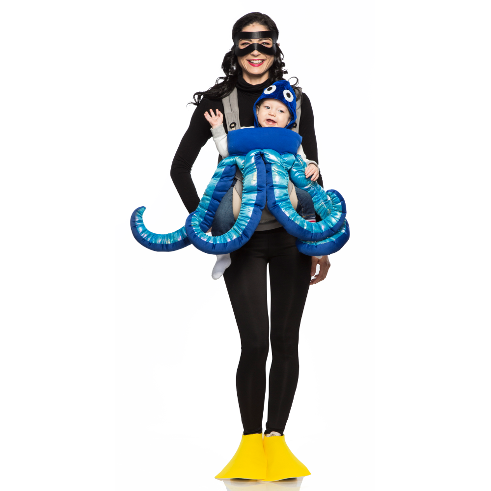 Scuba Diver and Octopus Mommy and Me Costume