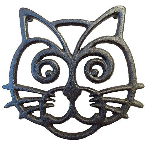 Cast Iron Cat Trivet