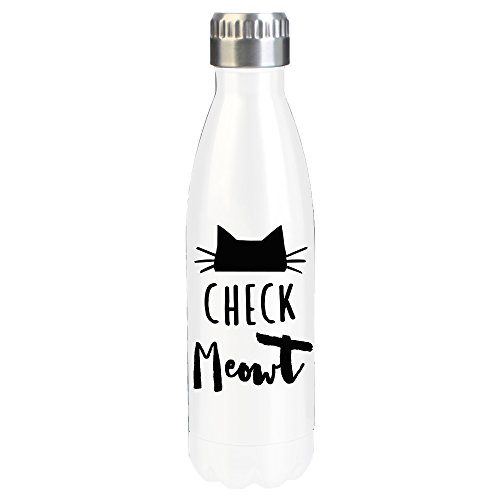Check Meowt Stainless Steel Water Bottle
