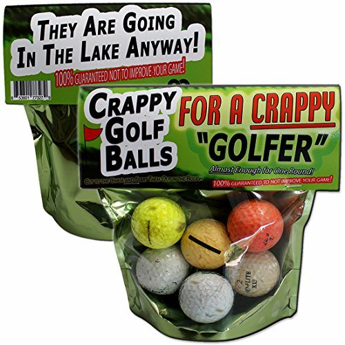 Crappy Golf Balls for a Crappy Golfer
