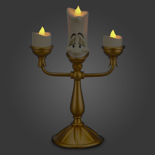 Disney Lumiere Light-Up Candlestick Figure