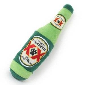 Dogs Equis Beer Bottle Dog Toy
