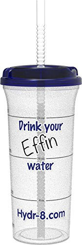 Drink your Effin Water Funny Water Bottle