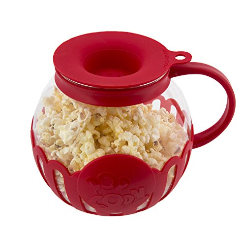Glass Popcorn Popper