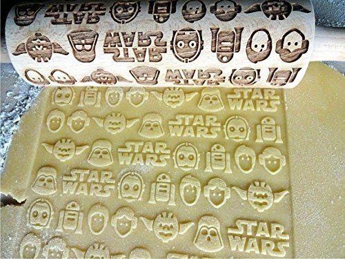 Embossing Star Wars Rolling Pin