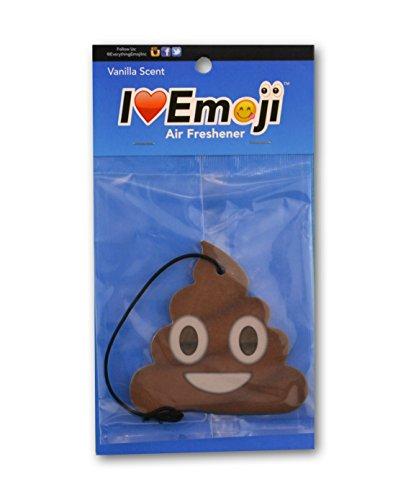 Emoji Poo Air Freshener Vanilla Scent