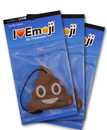 Poo Emoji Air Freshener