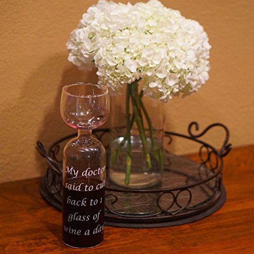 Entire Bottle of Wine Glass