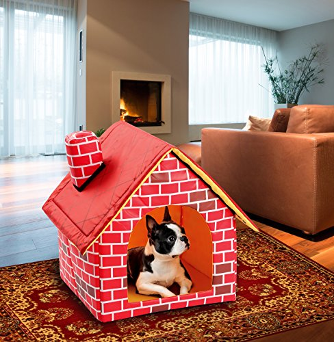 Soft-Sided Brick Pet House & Mat