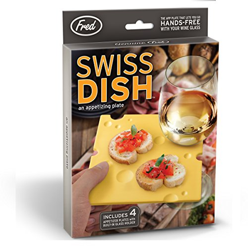 Swiss Cheese Slice Party Plates