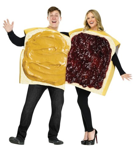 Peanut Butter And Jelly Couples Costume Set 2