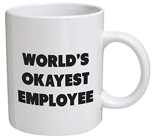 World's Okayest Employee Coffee Mug