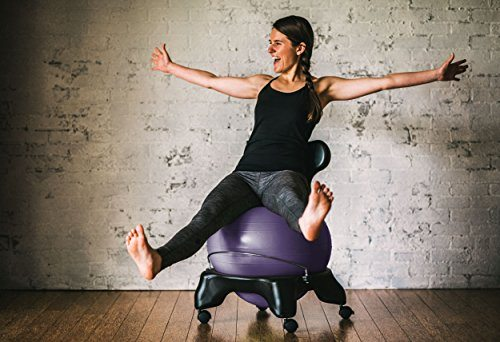 Gaiam Balance Ball Chair 7