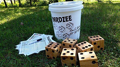 Giant Yardzee Yard Yahtzee Game
