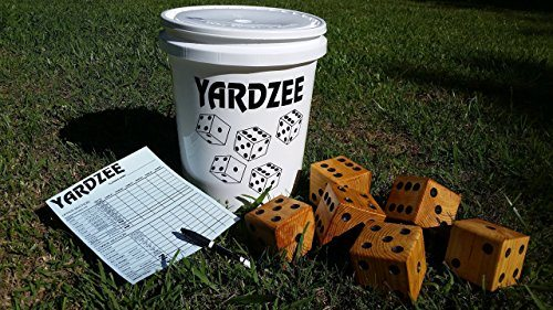 Giant Yardzee Yard Yahtzee Game