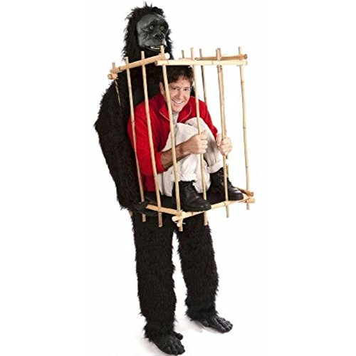 Gorilla and Cage Adult Costume