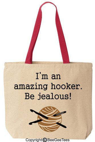 Amazing Hooker Funny Reusable Tote