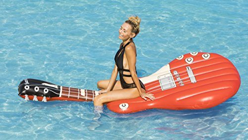 Giant Electric Guitar Pool Float 5