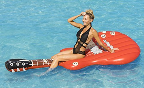 Giant Electric Guitar Pool Float