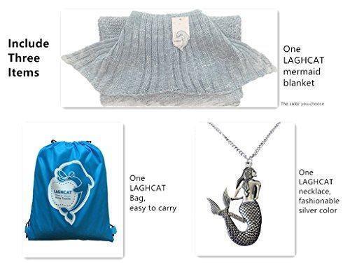 Mermaid Tail Knit Blanket
