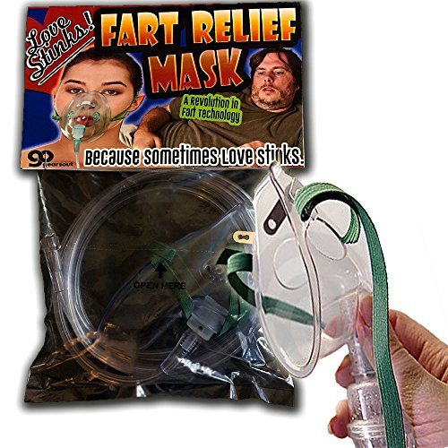 Love Stinks Fart Relief Mask