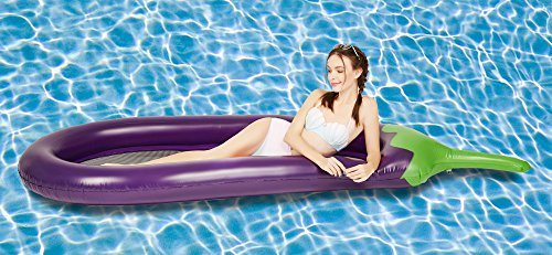 Giant Eggplant Pool Float