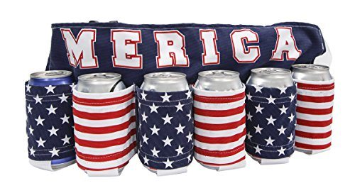 Merica Flag Beer Belt 2