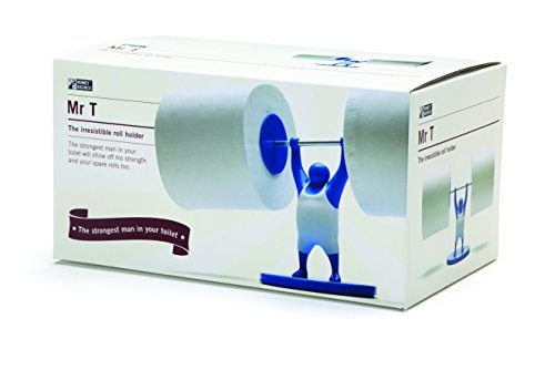 Weightlifter Toilet Paper Holder