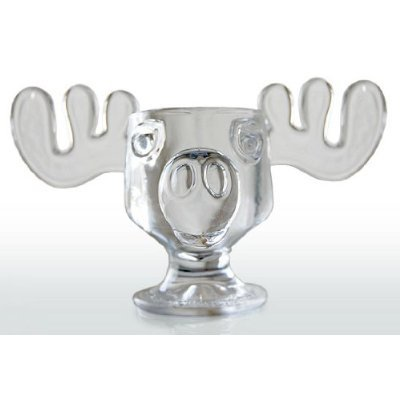 National Lampoons Christmas Vacation Glass Moose Mug