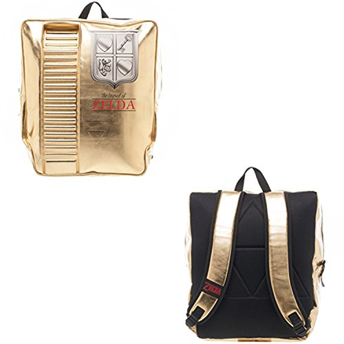 Nintendo Legend of Zelda Gold Cartridge Backpack