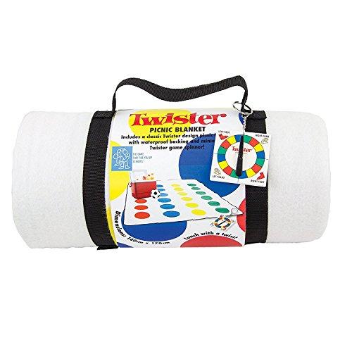 Twister Fleece Picnic Blanket