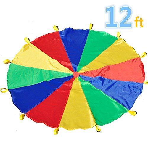 Giant Rainbow Parachute