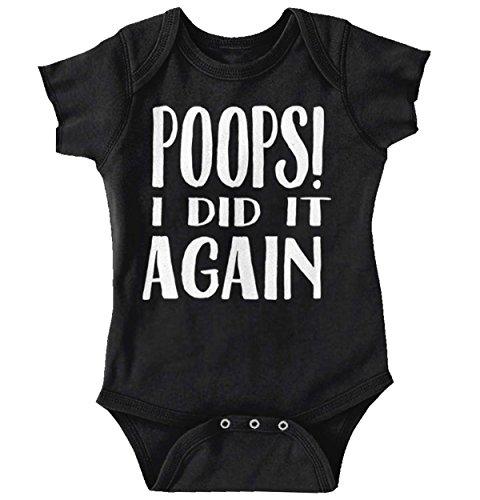 Poops I Did It Again Funny Baby Onesie
