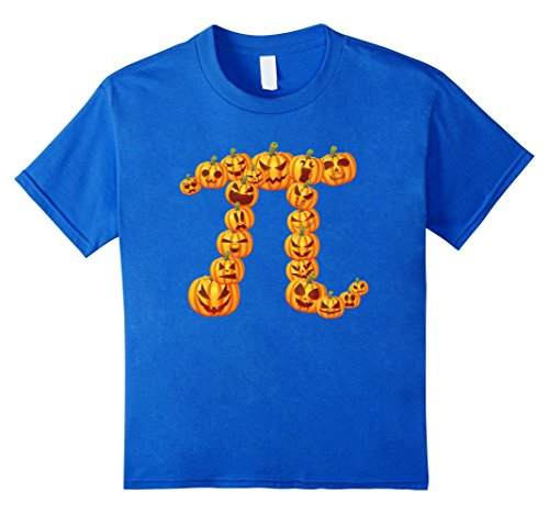 Pumpkin Pi Halloween Math T-shirt