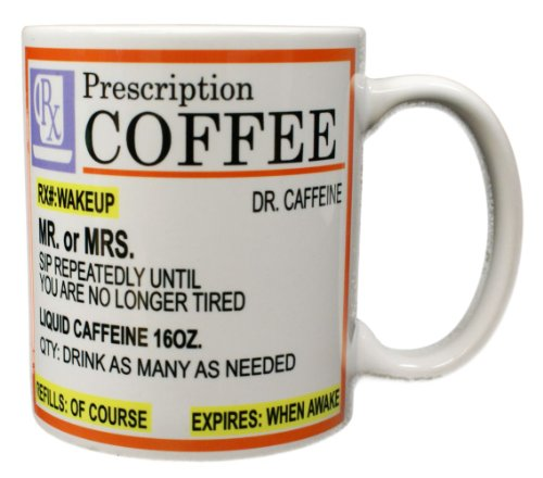 Rx Prescription Coffee Mug
