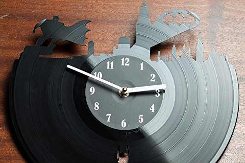 Batman Vinyl Wall Clock